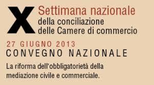 Giornata Nazionale Conciliazione 2013